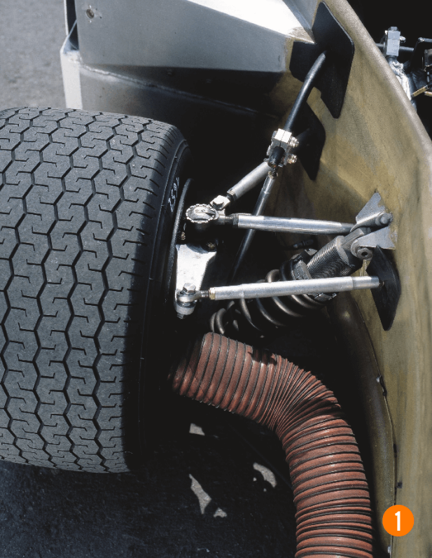 suspension AV Porsche 908 /3