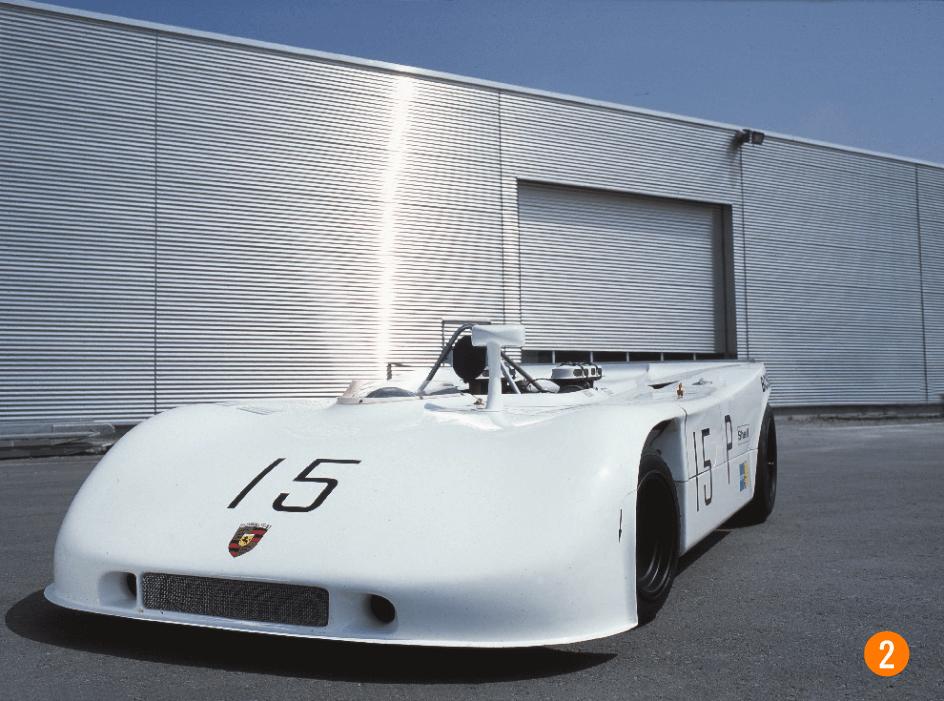 Porsche 908 /3 vue de face
