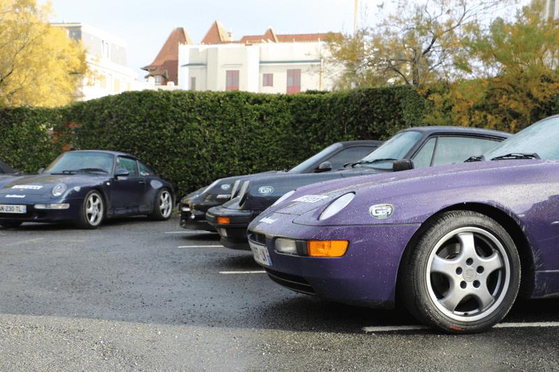 DE LA MAGNIFIQUE Porsche 911 2.2 S JUSTE RESTAURÉE AUX Porsche 997 TURBO DE MATTHIAS ET DE DIDIER.