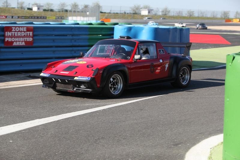 Presque un proto sur base de Porsche 914, victime de son moteur.