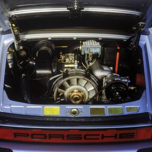 moteur de Porsche 911 3.2