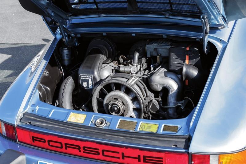 moteur de la 911 carrera 3.2