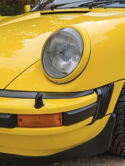Porsche Carrera 3,0l jaune