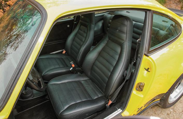 intérieur de 911 Carrera 3,0l