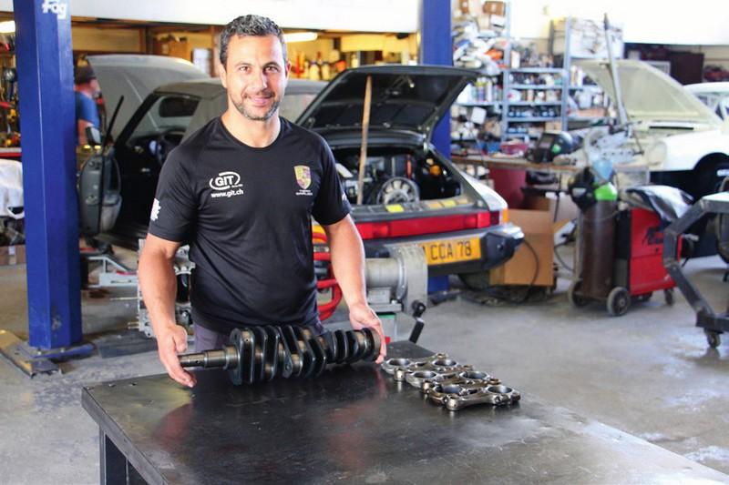 Montage du moteur par Olivier Caruso