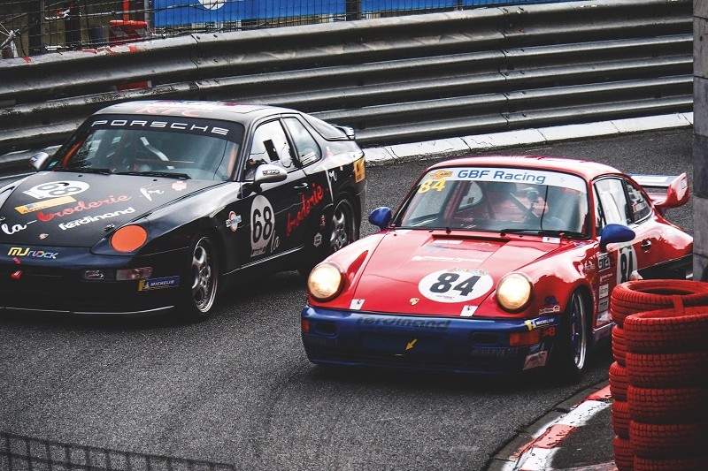 FERDINAND CUP PAU 2019 porsche 911 RSR rouge et 968 CS noire