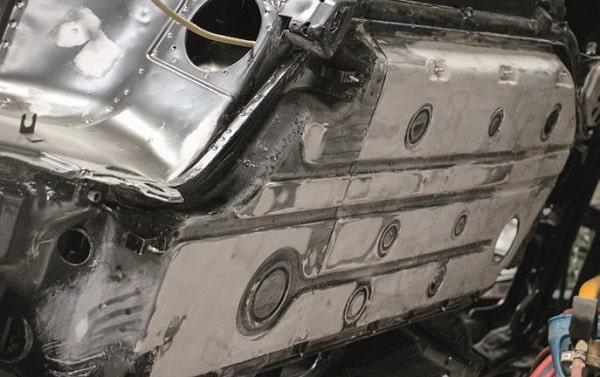 plancher plat de 964 RS