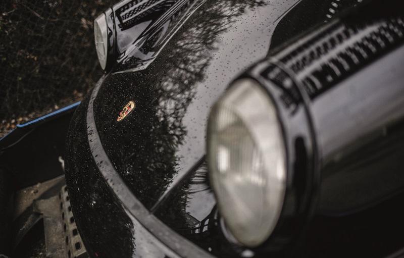 Avant de la Porsche 964 neuve