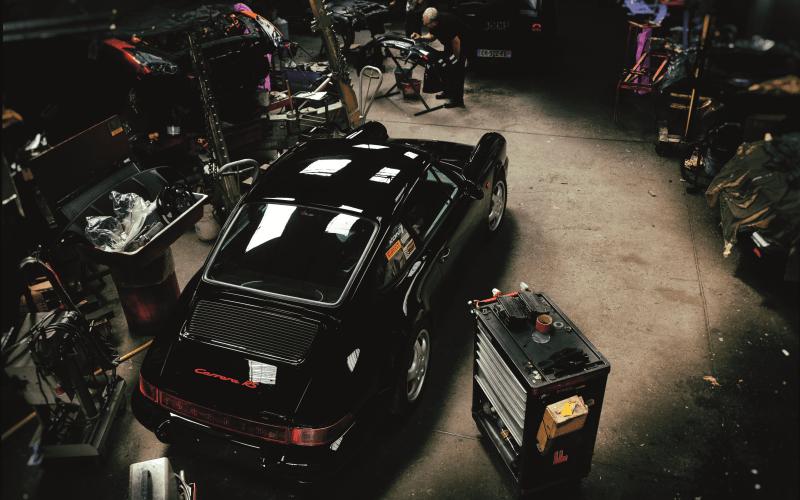remontage terminé pour notre 964 restaurée