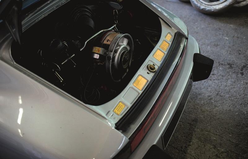 Le même moteur que la 911 Carrera 2,7 RS